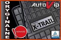 Резиновые коврики NISSAN X-TRAIL T32 2014-  с логотипом, фото 1