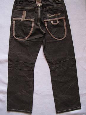 Стильные брюки для мальчиков 110,122,134,140,146 роста, фото 2