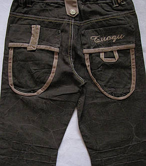 Стильные брюки для мальчиков 110,122,134,140,146 роста, фото 3