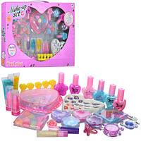 Детский набор косметики для девочек с лаками и тенями. Косметика 30182-17