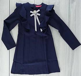 Школьная форма для девочек Платье Моника Синий Sofia Shelest рост 152 см