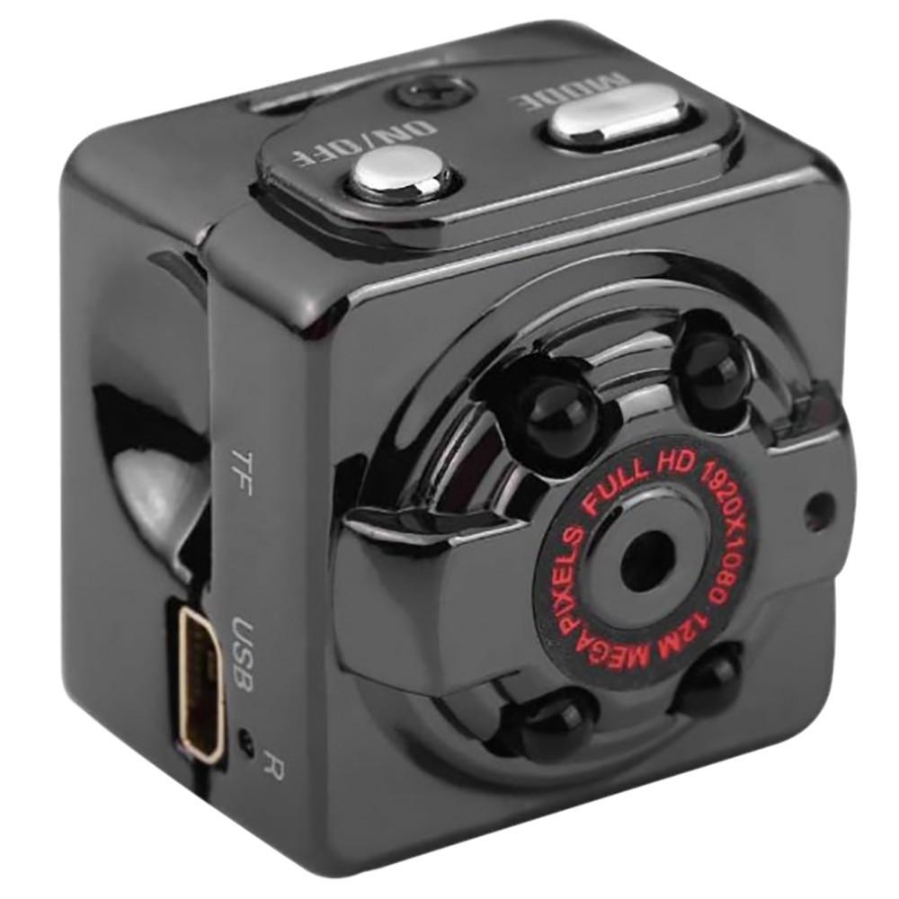 Мини камера SQ8 с ночной подсветкой и датчиком движения  + ПОДАРОК: Настенный Фонарик с регулятором BL-8772A