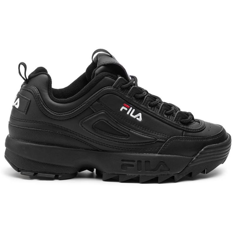 Кроссовки Fila Disruptor II Black Черные