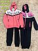 Трикотажный костюм 2 в 1 для девочек оптом, S&D, 116-146 см,  № CH-5744