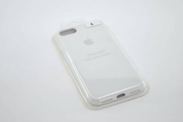 Чехол iPhone 7+ /8+ Silicone Case original white FULL №6, фото 2