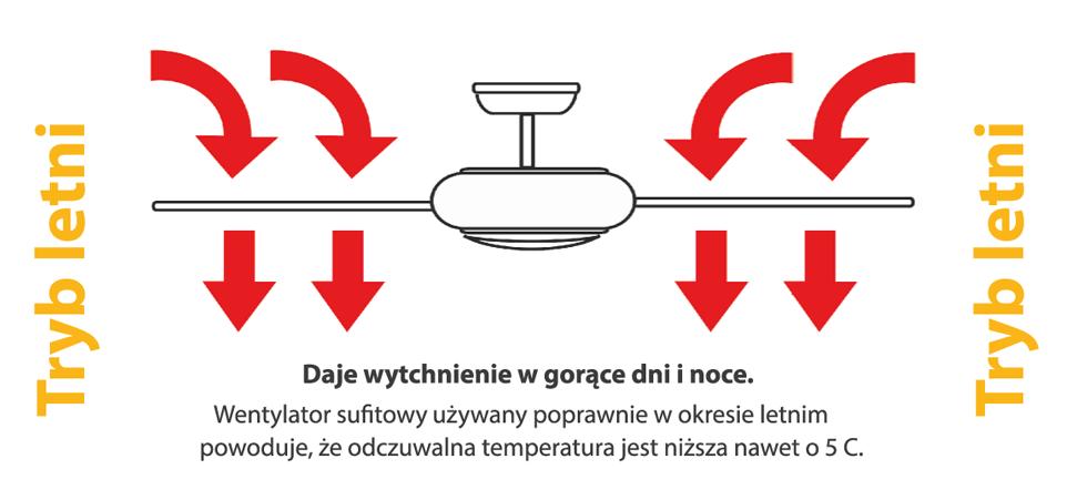 Потолочный вентилятор ZETA черный матовый
