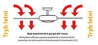 Потолочный вентилятор ZETA черный матовый, фото 1