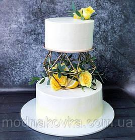 Куб объемный кованый для декора торта
