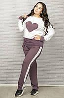 Молодёжный женский спортивный костюм Plus size