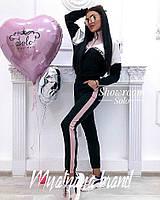 Женский стильный спортивный костюм 3 расцветки