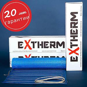 Мат нагревательный для теплого пола EXTHERM  ETL (Германия) под ламинат