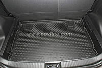 Коврик в багажник LADA Priora с 2007-,кузов: универсал ,цвет:черный ,производитель NovLine