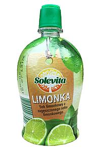 Концетрований сік лайма Solevita Limonka 200 мл.