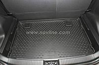 Коврик в багажник LADA Priora с 2007-,кузов: ХБ , цвет:черный ,производитель NovLine