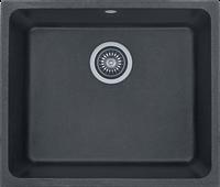 Кухонная мойка 54х46см Kernau KGSU 60 1B BLACK METALLIC