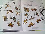 Раскраска А4 с наклейками 8 л, лиц. «Черепашки ниндзя» (розмальовка дитяча), фото 3