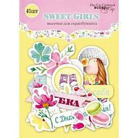 Высечки Scrapmir Sweet Girls, фото 1