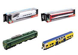 Поезд метал. 7 видов микс в блоке 18*4*3,5см /96-6/