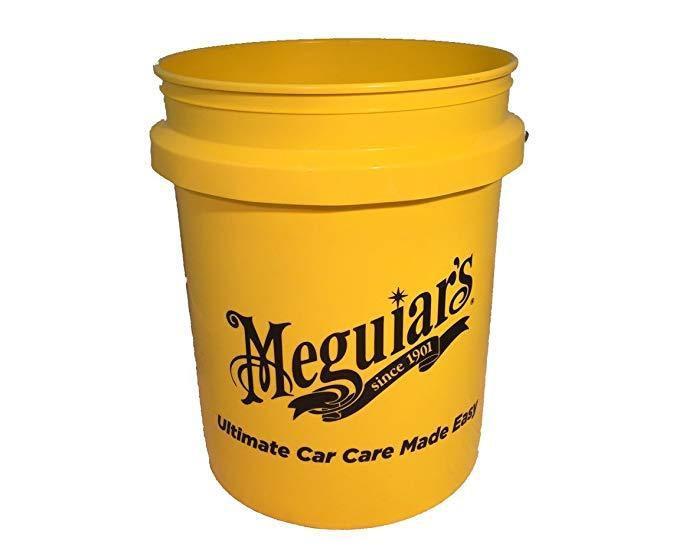 Ведро пластиковое - Meguiar's Yellow Bucket 19 л. желтый (RG203)