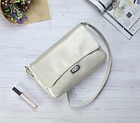 Маленькая белая перламутровая сумочка