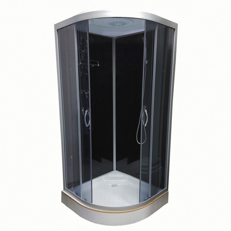 Душевой бокс Atlantis AKL 1325 P-T ECO 80х80, стекло тонированное, фото 1