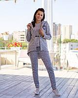 Женский утепленный костюм тройка / акрил с начесом / Украина 6-904, фото 1
