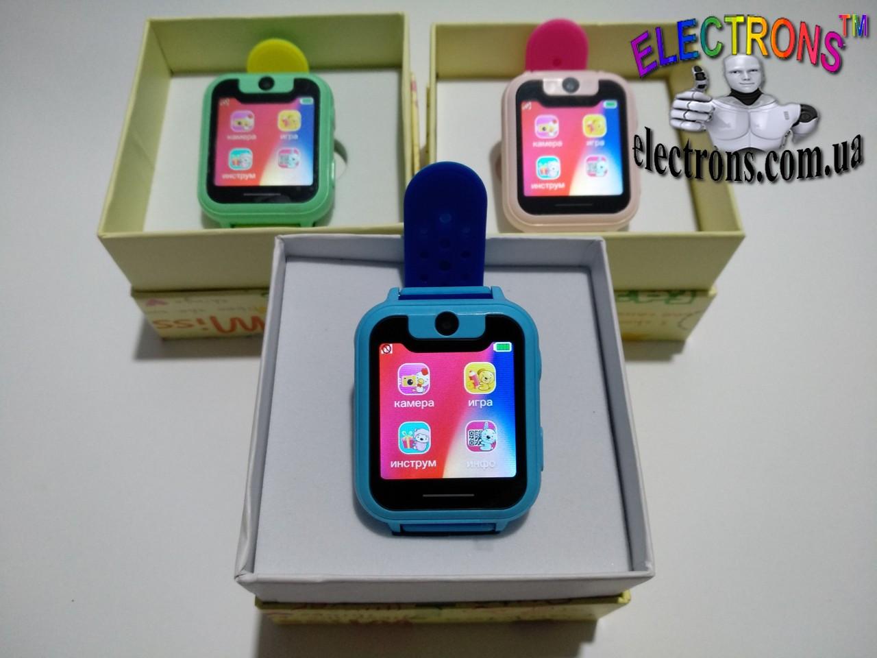 Смарт часы телефон детские наручные часы, детские часы,камера, фонарик s6