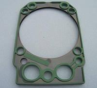 Прокладка головки блока ЕВРО армированная сталью, силикон зеленый (TM S.I.L.A.), 740.30-1003213, КамАЗ