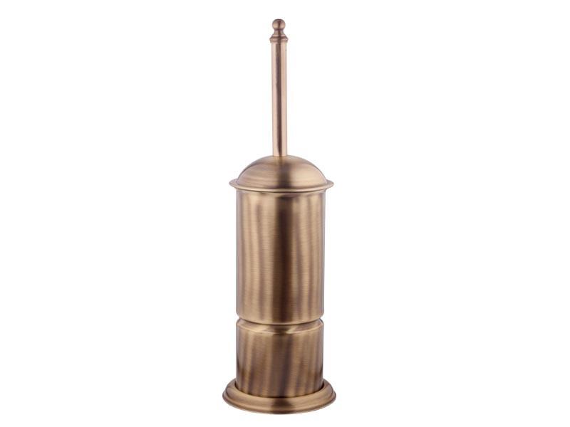 Ершик для туалета Kugu 932A напольный, бронза
