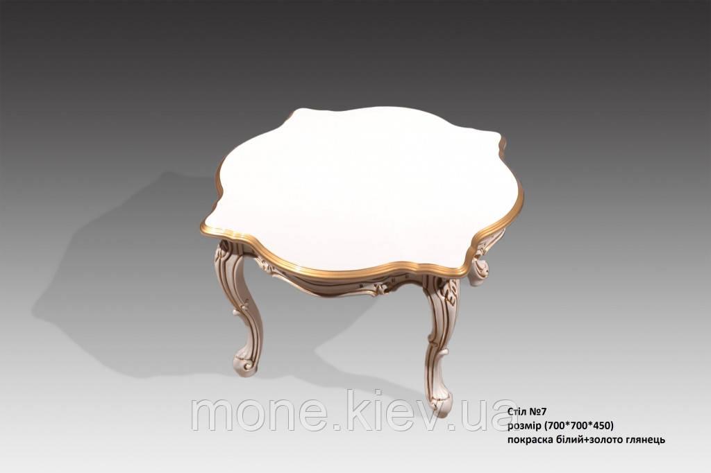 Кофейный столик в венецианском стиле № 7