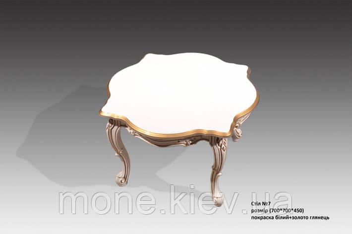 Кофейный столик в венецианском стиле № 7, фото 2