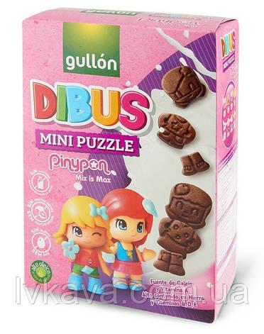 Печенье бисквитное  Gullon Dibus mini puzzle , 250 гр, фото 2