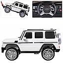 Детский электромобиль Джип M 3567 EBLR-1 (4WD), Mercedes G65 VIP, белый, фото 10