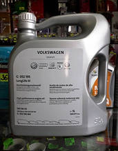 Моторное масло VAG Longlife III (504 00/507 00) 5W-30 5л