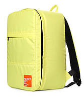 Рюкзак для ручной клади PoolParty HUB (желтый) - Ryanair / Wizz Air / МАУ