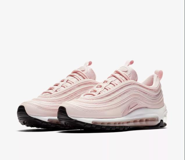 Женские кроссовки Nike Air Max 97 Pink White Розовые