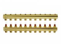 Коллектор для теплого пола 11+11 без расходомеров FHF-11 Danfoss