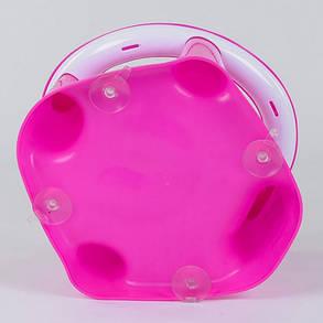 Дитяче сидіння для купання Bimbo BM-01611 на присосках, колір рожевий, фото 2
