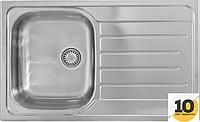 Кухонная мойка 80x50см Kernau KSS G 454 1B1D LINEN