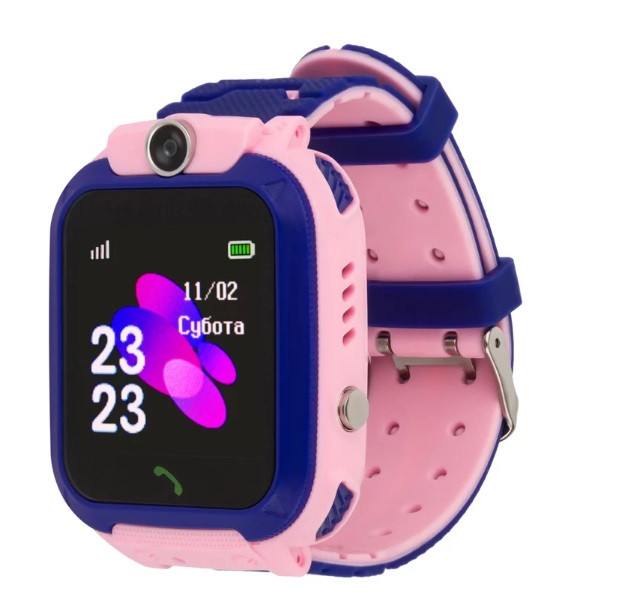 Детские умные часы DF40 Розовые, фото 1