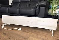 Керамический тёплый плинтус FLYME 420PW (белое дерево) с программатором