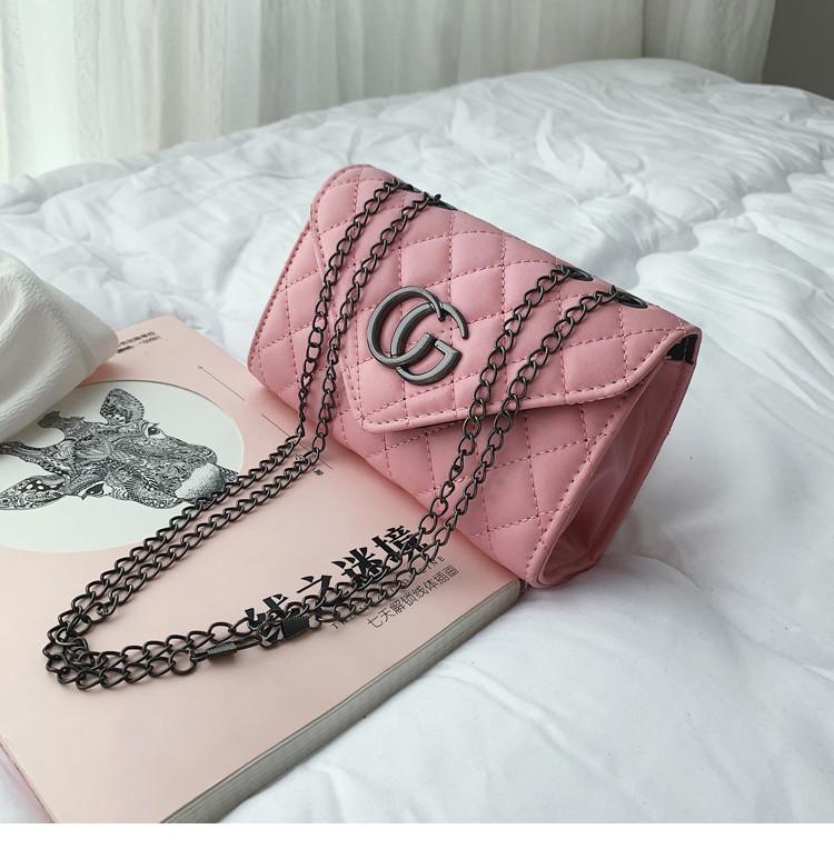Женская сумка клатч розовая