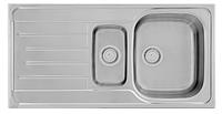 Кухонная мойка 98x50см Kernau KSS G 604 1,5B1D LINEN