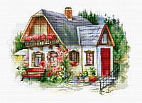Набор для вышивания крестом Luca-s BU4005 Красивый загородный домик