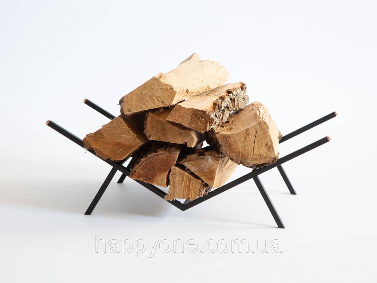 Стильная подставка для дров
