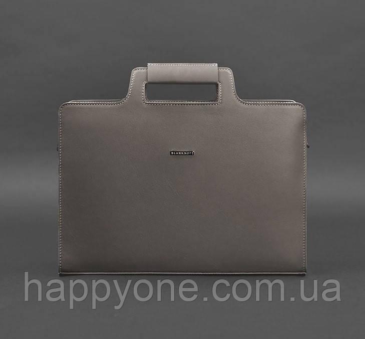 Жіноча ділова сумка для ноутбука і документів (мокко)