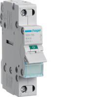 Выключатель нагрузки 1-полюсный 63А/230В, 1м, Hager SBN163