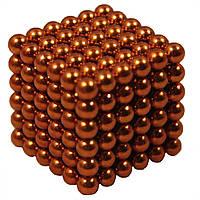 Головоломка Неокуб NeoCube 216 шариков по 5мм Золотой