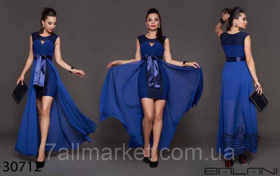"""Платье женское нарядное с гипюром, размер 42-46 (3цв) """"ANNA"""" недорого от прямого поставщика"""