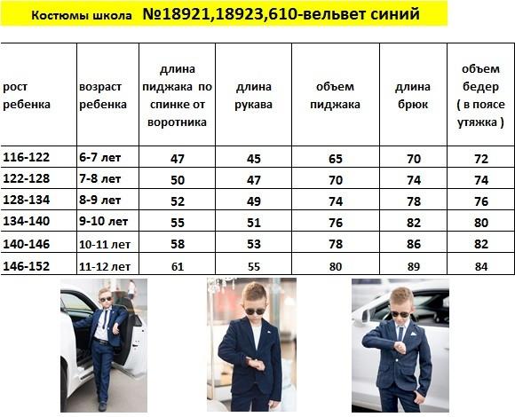 Стильный костюм пиджак+брюки на мальчика темно синий. Рост 116,122,128,134,140,146, фото 7